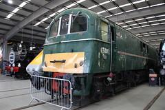 Class 71 E5001 (372Paul) Tags: nrm shildon nationalrailwaymuseum steam diesel electric e5001 class71 deltic lner emu 2hap black5 5000 sanspareil apt advancedpassengertrain