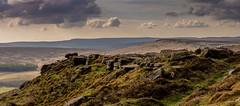 Stanage (Peter Quinn1) Tags: stanageedhe derbyshire peakdistrict darkpeak millstonegrit gritstone sheffield panorama pano cloudscape moorland