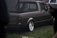 40's In A Bag (Chris Whit) Tags: 40sinabag 40s vw audi bmw mk1 mk2 mk3 mk4 mk5 mk6 mk7 b5 b6 b7 caddy cabby rs3 rs4 hatchback golf gti jetta bagged lowered stock stance fitment coilovers coal exhaust low hat rain clouds