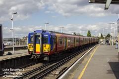 South West Trains Class 455861 (Luke Bowman's Photography) Tags: south west trains swt class 455861 5861 455 clapham junction
