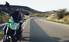 DSC_0020_si (David26FM) Tags: kawasaki er6n gpr full exhaust dainese veloster route road bike beautiful speed naked puig 2015 green nice fast
