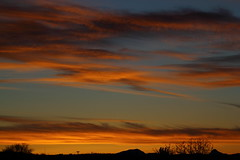 Sunset 4 11 2017 #09 (Az Skies Photography) Tags: sun set sunset dusk twilight nightfall cloud clouds sky skyline skyscape red orange yellow gold golden salmon black rio rico arizona az riorico rioricoaz arizonasky arizonaskyline arizonaskyscape arizonasunset april 11 2017 april112017 41117 4112017 canon eos rebel t2i canoneosrebelt2i eosrebelt2i