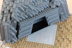 (Izavagooba) Tags: lego star wars rockwork imperial base
