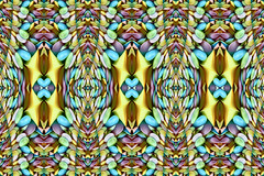 19//52 All spaced out..... (NikkiNakkiNoo365) Tags: pastel flyingsaucers abstract symmetry fractal pattern colours canon1100d week19 52weeksof2017