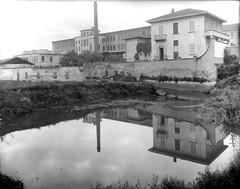 San Cristoforo - Costruzione sponde Lambro meridionale, 1949 2 (Milàn l'era inscì) Tags: urbanfile milanl'erainscì milano milan oldpicture milanosparita vecchiefoto san cristoforo