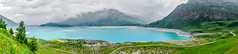 Mont Cenis, France (DouxVide) Tags: france a77 apsc mont mountain montagne monte cenis moncenisio maurienne savoie alpes lac lake water cyan turquoise barrage dam clouds hdr panorama alps