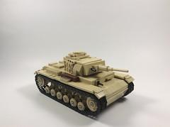 Panzer III (mjbricks(flose master)) Tags: lego panzer tank german brickarms iii 3 vehicle ww2