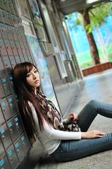 喬喬1028 (Mike (JPG直出~ 這就是我的忍道XD)) Tags: 喬喬 台灣大學 d300 model beauty 外拍 portrait 2013