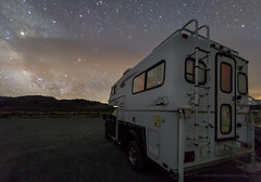 Eastern Sierra Night (Jeffrey Sullivan) Tags: mono lake basin south tufa state reserve milky way easternsierra sierranevada leevining california united states usa monocounty starry night landscape nature photography stars astrophotography astronomy canon eos 6d photo copyright 2017 jeff sullivan milkyway truckcamper camper camping bigfoot 25c94 torklift happijac ford f350 4wd pickup 4x4 solar offgrid off grid