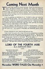 Weird Tales 15 (kevin63) Tags: lightner internetarchive magazine pulp fiction horror sciencefiction fantasy 1930s 30s thirties robertehoward hplovecraft clarkastonsmith