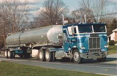Freightliner Tanker on 30 (PAcarhauler) Tags: freightliner coe cabover semi truck tractor trailer