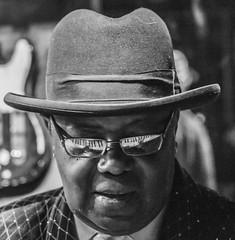 Seeing The Music (MarcCooper_1950) Tags: blues music musician livemusic monochrome portrait fujifilm xt10 tarzana cadillacsackbluesshow mauisugarmillsaloon kennywayne thebluesboss piano pianist keyboard