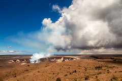 Kilauea Volcano, Hawaii Island (UGraphy) Tags: bigisland hawaii landscape lava mountain travel usa vacation volcano clouds kilauea outdoor smoke pāhoa unitedstates us