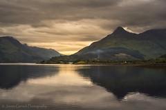 Breaking the Silence (jasmingerisch) Tags: scotland loch lochleven pap glencoe water wasser reflection landschaft landscape outdoor highlands travel reise