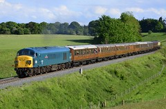 45060 (elr37418) Tags: 45060 blue eardington severn valley railway peak bridgnorth uk england shropshire d7000 nikon yellow