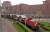 20170503 DBC 6454 + autotrein, Amersfoort (Bert Hollander) Tags: amersfoort amf dbcargo loc 6454 dloc locomotief serie mak 6400 nscargo autowagens importeur pon transporter goederentrein cargo dbc trein 62291amfamfpon