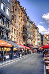 Honfleur (Bruno MATHIOT) Tags: hdr photomatix tonemapping normandie france french 10mm 1020mm ultragrandangle wideangle wide rue street house maison canon 760d sigma color couleur