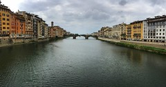 Arno River Florence (Marc Sayce) Tags: ponte alle grazie river arno florence firenze tuscany toscana italy italia