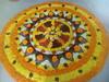 IMG_20160914_085758 (bhagwathi hariharan) Tags: onam pookalam flower rangoli kolam carpet floral nalasopara nallasopara virar aathapookalam tiruonam