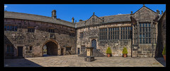 The Court Yard (Kev Walker ¦ 8 Million Views..Thank You) Tags: 12thcentury architecture britishculture building canon1100d canon1855mm fortified hdr hoghtontower lancashire manorhouse northwest outdoor panorama panoramic photoborder postprocessing