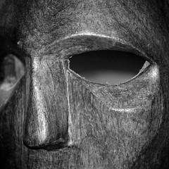 Empty Eyes(s).... (eric zijn fotoos) Tags: sonyrxiii africa southafrica zwartwit blackandwhite eyes oud beeld macromondays blackwhite portret zuidafrika portrait afrika sonyrx10m3 old detail sonyrx10111 statue macro makro