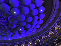Sound Mushrooms (Roots Shoots) Tags: abstract london sound colour blue harrypotter concert show music royalalberthall