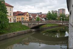 Ljubljanica river in Ljubljana, Slovenia (George Pachantouris) Tags: slovenia europe ljubljana european medieval architecture ljubljanica