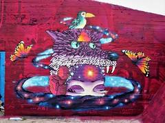 Huascaya / Dok Noord - 6 mei 2017 (Ferdinand 'Ferre' Feys) Tags: gent ghent gand belgium belgique belgië streetart artdelarue graffitiart graffiti graff urbanart urbanarte arteurbano huascaya bestof2017be