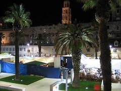Sveti Duje , Riva (T.J. Jursky) Tags: night tonkojursky canon split riva dalmatia adriatic croatia europe nightphotography