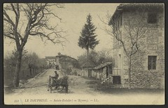 Sainte-Eulalie (en Royans) (Médiathèques Valence Romans agglomération) Tags: sainteeulalie route village charrette
