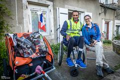 01_Alain&Alice_0836 (darry@darryphotos.com) Tags: chemindecompostelle chemindesaintjacques compostelle dufauteuilauphenix melle melle79 nikon voyage handicap paysmellois