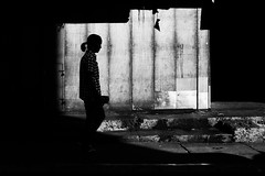 (Meljoe San Diego) Tags: meljoesandiego fuji fujifilm x100f streetphotography candid shadow silhouette monochrome philippines