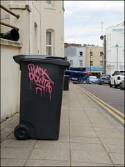Plack / Dowta (Alex Ellison) Tags: dowt dowta dfn tag bournemouth england uk urban graffiti graff boobs