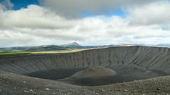 Hverfjall crater (webeagle12) Tags: iceland nikon d7200 europe mountains landscape vegetation nature mountain earth planet reykjahlíð north geothermal myvatn lake hverfjall volcano krafla region crater