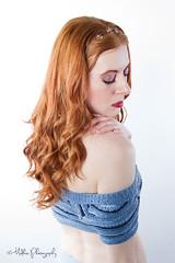MISHA - FASHION SHOOT (Mudkiss Phtography) Tags: fashion headshots portraits studioshoot whitebackground redhair female model
