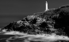 Guiding light (oxfordwight) Tags: trevose cornwall le mono lighthouse rocks nd lee polariser 06