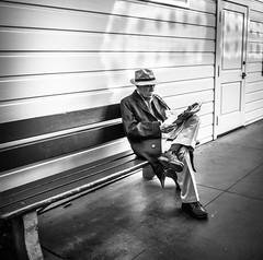 A Quiet Corner (tritranla) Tags: losangeles artistic california candid city mirrorless olympus people streetphotography urban