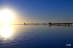 Trapiche do Laranjal (wagnerm25) Tags: laranjal lake pelotas pier trapiche sunset sunrise sun