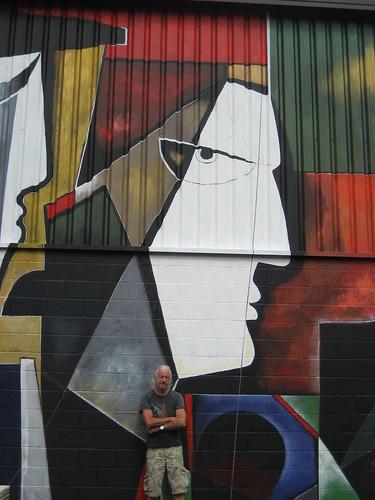 GEHITUZ -Mural- 9metersx28meters Basque Country,N.Spain    2010 - Version 2