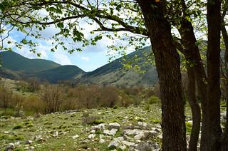Aurunci Mountains springtime