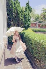 SDF_2316 (SendoFu) Tags: bonnet ボンネット エプロン風スカート blouse bl ブラウス headbow kc カチューシャ bnt 蕾絲 維多利亞 jsk op onepiecedress ワンピース jumperskirt ジャンパースカート nop lolita lolitafashion 蘿莉塔 蘿莉塔時裝 ロリータ・ファッション sweetlolita classicallolita