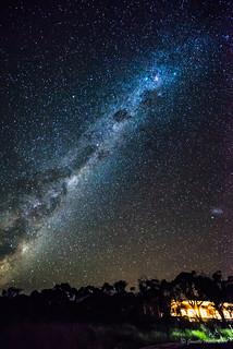Milky Way at Retakunna Hut 3
