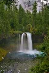 Sept 5, 2013 Koosah Falls - McKenzie River - Hwy 126 (22) (Dale Gerdes) Tags: oregon koosah falls waterfall waterfalls