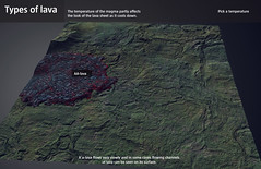 Types of lava (Gagarin Interactive) Tags: lavacentre eruptions gagarin basalt interactive exhibiton iceland hvolsvollur volcanic monitoring fissure caldera