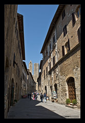 San Gimignano II (Emilio Casini) Tags: tuscany toscana italy italia città city towers torri travel viaggio centrostorico unesco sangimignano passion nikonpassion nikon