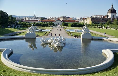Belvedere Park Wien 2017