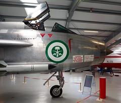 English Electric Lightning F.53, Gatwick (Hammerhead27) Tags: saudi supersonic englishelectric gatwickaviationmuseum restored arabic british missile f53 rsaf aircraft airplane machine war aluminium silver fighter jet classic