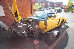 ZF2Y6478.jpg (Adam the ribless) Tags: repair racecar removal vx220 elise lotus ly36 sun clam fiberglass british vauxhall sportscar servicing radiator performance racing