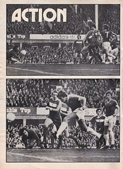 Everton vs Manchester United - 1977 - Page 2 (The Sky Strikers) Tags: everton manchester united football league divsion one goodison park programme 15p