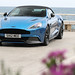 Aston Martin Vanquish Roadster.